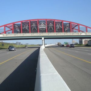 Stark County Bridge over Highway