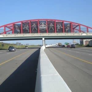Stark County Bridge over Highway